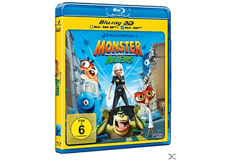 Monster und Aliens 3D Blu-ray (+2D)