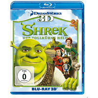 Shrek - Der tollkühne Held [3D Blu-ray]