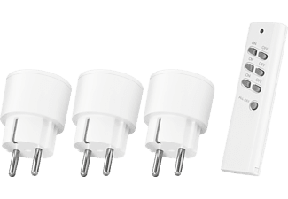 KLIKAANKLIKUIT Compact Wireless Socket Switch Set APC3-2300R (Draadloze schakelaars) + Afstandsbediening