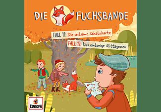 Die Fuchsbande - 006/Fall 11: Die Seltsame Schatzkarte/Fall 12: Das Eintönige Mittagessen  - (CD)