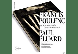 Jasper Schweppe - Francis Poulenc Et Le Monde De Paul Éluard  - (CD + Buch)