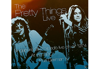 The Pretty Things - Live On Air At BBC - (CD)