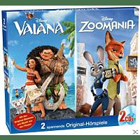 Disney Hörspiele - Vaiana/Zoomania - (CD)