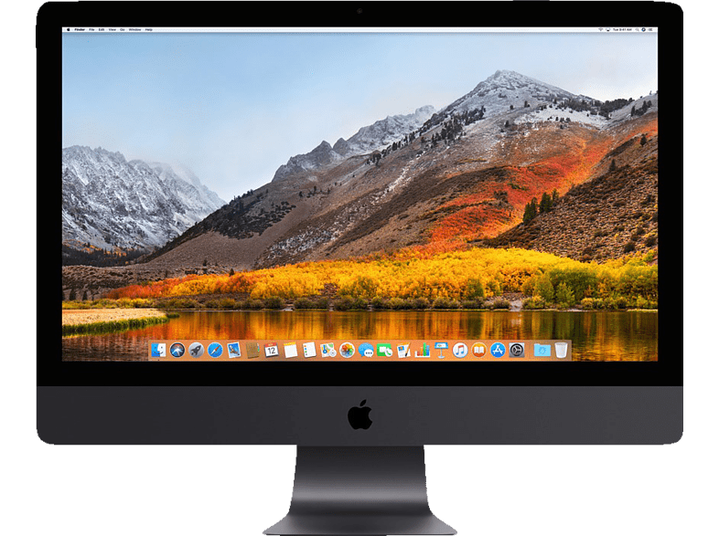 APPLE iMac Pro MQ2Y2D/A-160306 mit internationaler Tastatur, All-In-One PC mit 27 Zoll Display, Xeon W Prozessor, 256 GB RAM, 4 TB SSD, Radeon™ Pro Vega 64X, Space Grau