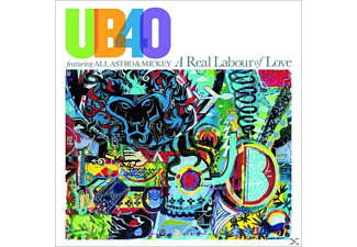 UB40 - A Real Labour Of Love (Coloured Vinyl) - (Vinyl)