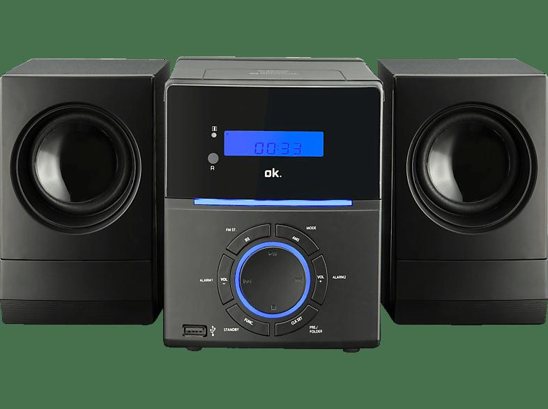 OK. OMH 460BT-B Kompaktanlage (CD, CD-R, CD-RW, MP3, Schwarz)