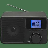 OK. OWR 230-B Radio, FM, FM, AM, BluetoothNein, Schwarz