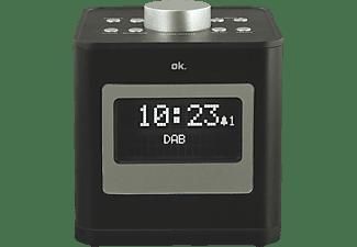 OK. OCR 510 DAB+ Radio-Uhr, DAB+, FM, FM, AM, Schwarz
