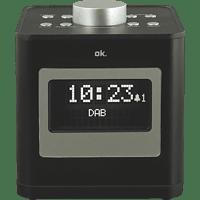 OK. OCR 510 DAB+ Radio-Uhr DAB+, FM, Schwarz