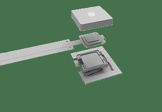 MICROSOFT Modern Keyboard mit Fingerprint-ID Tastatur Silber
