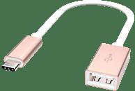 ARTWIZZ USB-C auf USB-A Buchse Adapter