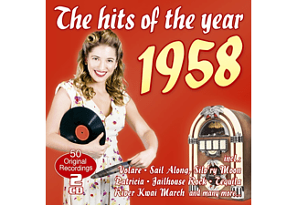 VARIOUS - The Hits Of The Year 1958  - (CD)
