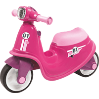 BIG Classic-Scooter Girlie Bobby Car, Pink