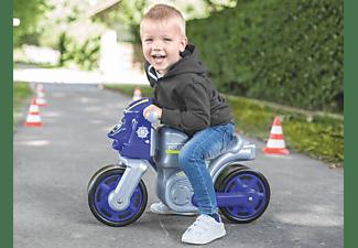 BIG Bike Polizei Bobby-Car Blau/Grau