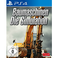 Baumaschinen - Die Simulation [PlayStation 4]