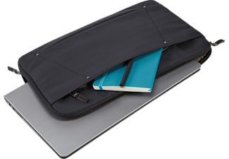 CASE-LOGIC Deco Notebooktasche Sleeve für Universal Polyester, Schwarz