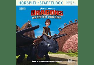 Dragons-die Reiter Von Berk - 001 - DIE REITER VON BERK STAFFELBOX (MP3)  - (MP3-CD)