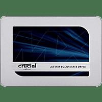 CRUCIAL MX500, 2 TB, SSD, Interner Speicher, 2,5 Zoll, intern