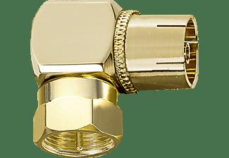 OEHLBACH Antenna AD-F 90 Winkeladapter , Gold
