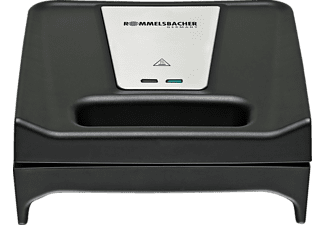 ROMMELSBACHER SWG 700 Multi Toast & Grill Snack-Kombigerät Schwarz/Edelstahl