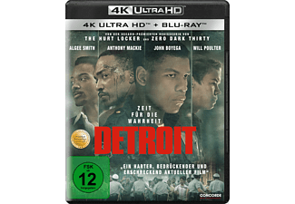 Detroit 4K Ultra HD Blu-ray + Blu-ray