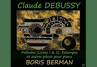 Berman Boris - Estampes Und Andere Klavierstücke  - (CD)