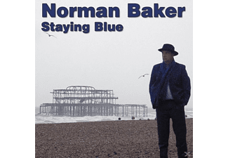 Norman Baker - Staying Blue - (CD)