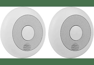 SMARTWARES 10.040.95  Funk-Rauchmelder 2-tlg., Einzelbetrieb, Weiß