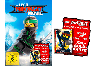 Lego Ninjago Movie (Exklusiv mit XXL-GOLD-KARTE) Blu-ray