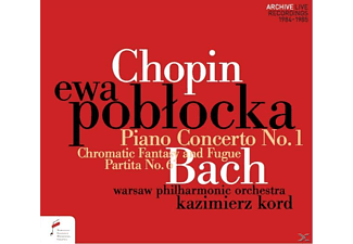 Ewa Poblocka, Warsaw Philharmonic Orchestra - Klavierkonzert 1 Chromatic Fantasy And  - (CD)