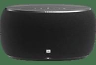 JBL LINK 500 - Streaming Lautsprecher (App-steuerbar, Bluetooth, W-LAN Schnittstelle, Schwarz)