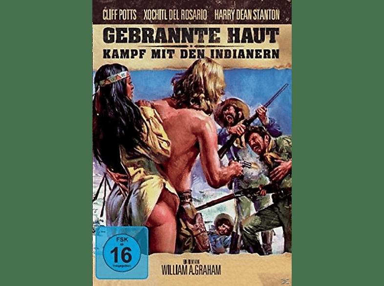 Gebrannte Haut - Kampf mit den Indianern [DVD]