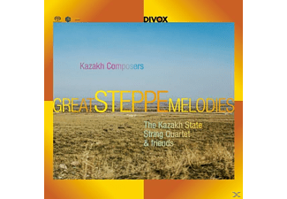 VARIOUS - Great Steppe Melodies from Kazakh - (CD)