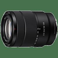 SONY Objektiv E 18-135mm 3.5-5.6 OSS (SEL18135) APS-C Standard-Zoomobjektiv, schwarz