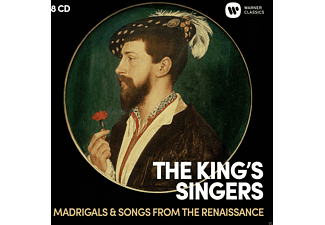 The King's Singers - Madrigals & Songs from the Renaissance  - (CD)