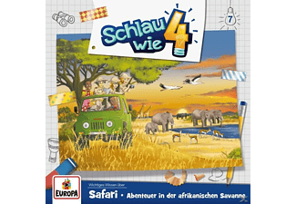 Schlau Wie Vier - 007/Safari.Abenteuer in der afrikanischen Savanne  - (CD)