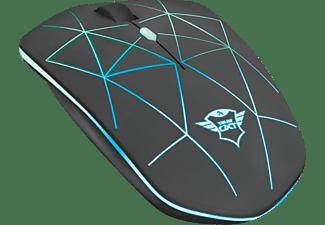 TRUST GXT 117 Strike Gaming Maus, Schwarz
