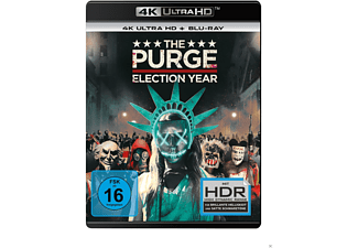 The Purge: Election Year - (4K Ultra HD Blu-ray + Blu-ray)