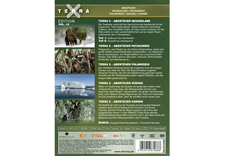 Terra X - Edition Vol. 10: Abenteuer Neuseeland / Patagonien / Polarkreis / Südsee / Karibik DVD