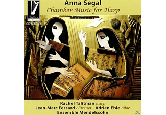 Rachel/fessard/eble/ensemble Mendelssohn Talitman - Chamber Music for Harp - (CD)