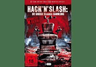 Hack'n'Slash: Die grosse Slasher Sammlung DVD