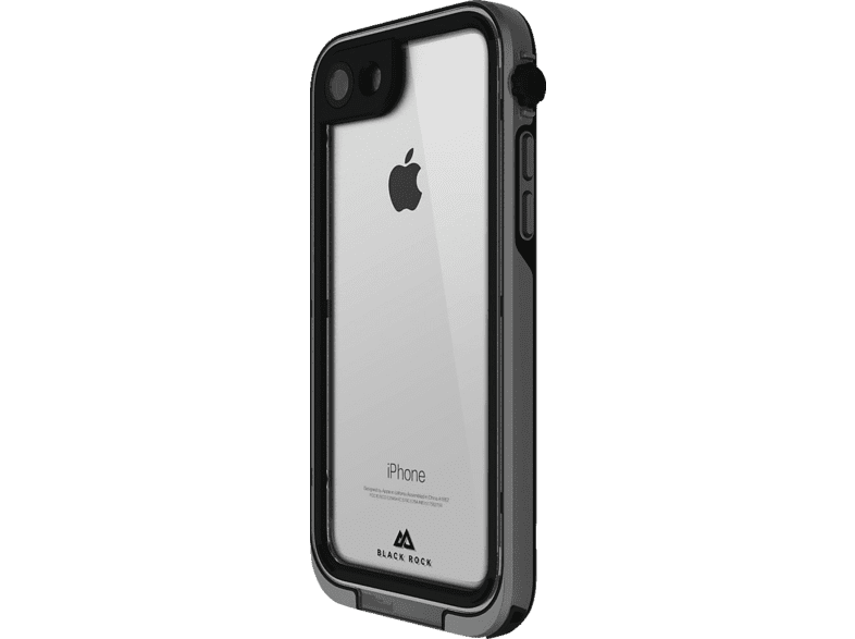 BLACK ROCK Cover 360° Hero , Bumper, Apple, iPhone 7 Plus, iPhone 8 Plus, Kunststoff, Grau