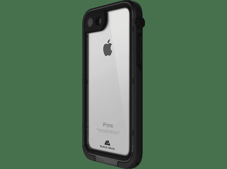 BLACK ROCK Cover 360° Hero , Bumper, Apple, iPhone X, Kunststoff, Schwarz/Transparent