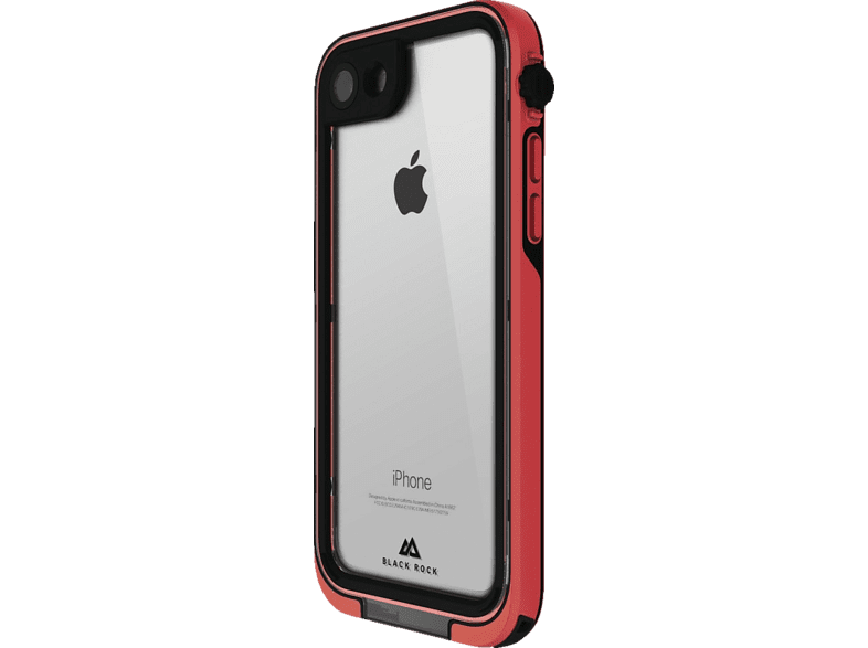 BLACK ROCK Cover 360° Hero , Bumper, Apple, iPhone X, Kunststoff, Rot
