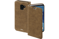 HAMA Guard Case , Bookcover, Samsung, Galaxy A8 (2018), Kunstleder, Braun