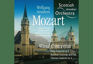 Alison Mitchell, Maximiliano Martin, Alexander Janiczek, Ursula Leveaux, VARIOUS - Bläserkonzerte  - (CD)