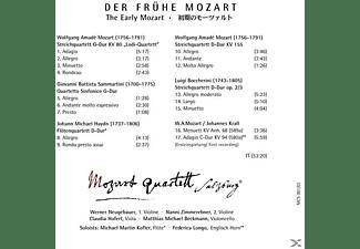 Michael Martin/mozart Quartett Salzburg Kofler - Der Frühe Mozart  - (CD)