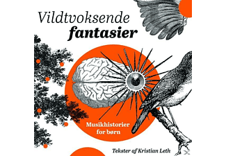 VARIOUS - Vildtvoksende Fantasier  - (CD)