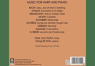 Hahn,Hae Joo/Shin,Sang-Eil - Werke für Harfe und Klavier  - (CD)