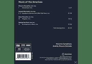 Orozco-estrada Andre - Music of the Americas  - (SACD)